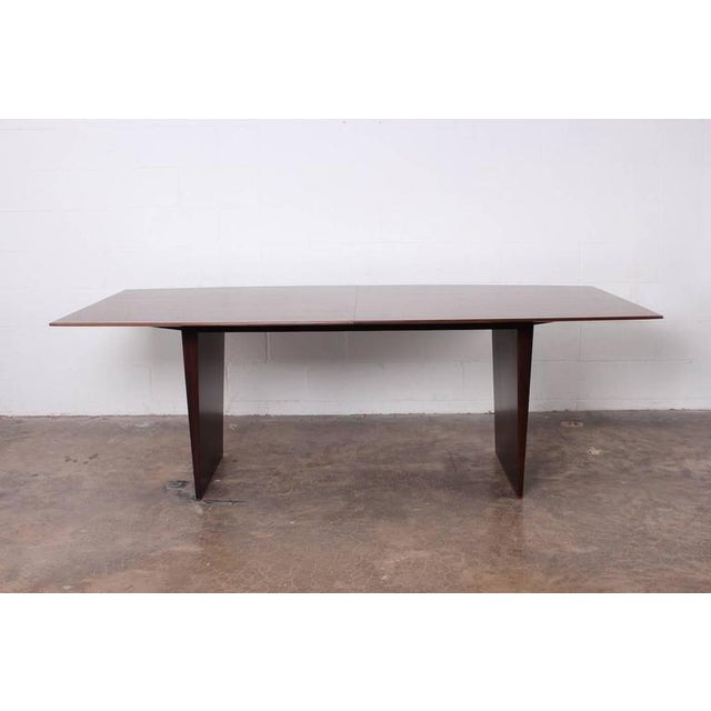 Large Walnut Dining Table by Edward Wormley for Dunbar - Image 4 of 10
