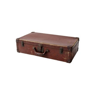 Antique Hardboard Suitcase