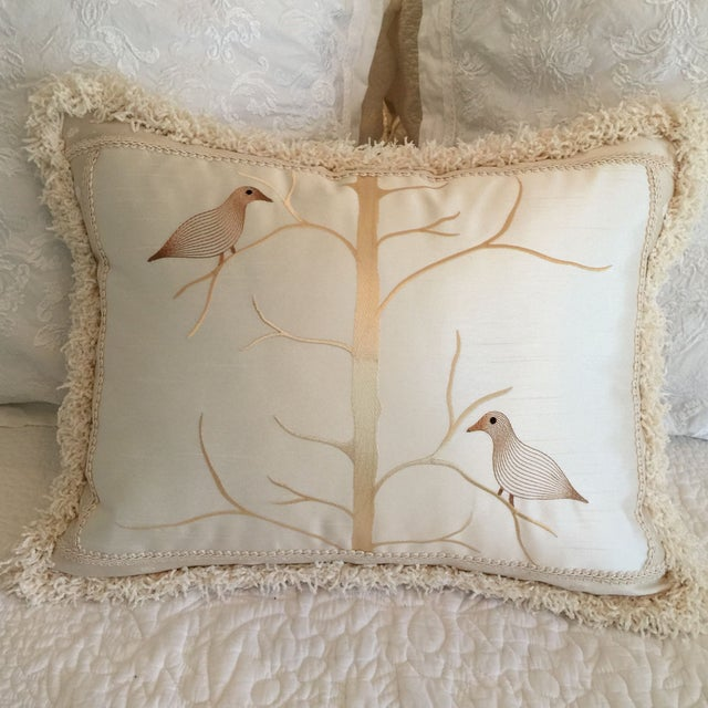 Beacon Hill Birds on Branch Pillow - Image 2 of 3