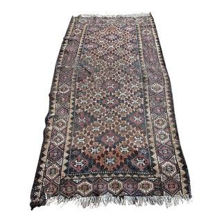 Vintage Persian Kilim Runner Rug - 2′8″ × 5′2″