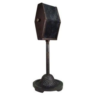 Vintage 1930s Bi-Directional Ribbon Microphone