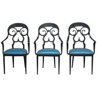 Aluminum Armchairs by Veneman for Tropitone - Set of 3