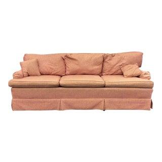 Vimtage English Coral Arm Sofa