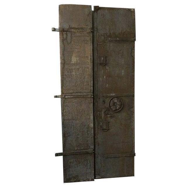 Industrial Metal Castle Door - Image 1 of 10