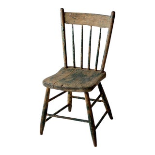 Primitive Distressed Windsor Chair