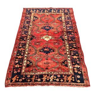 Hand Woven Wool Persian Rug - 4′3″ × 7′