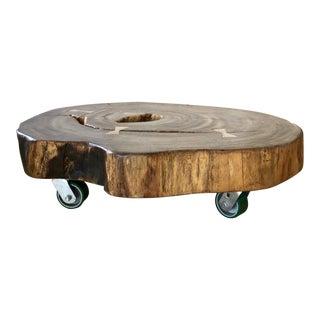 Brazilian Tamboril Wood Coffee Table