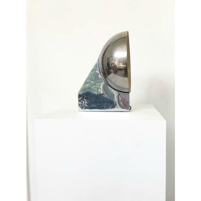 Image of Maison Jansen Style French Chrome Sconce