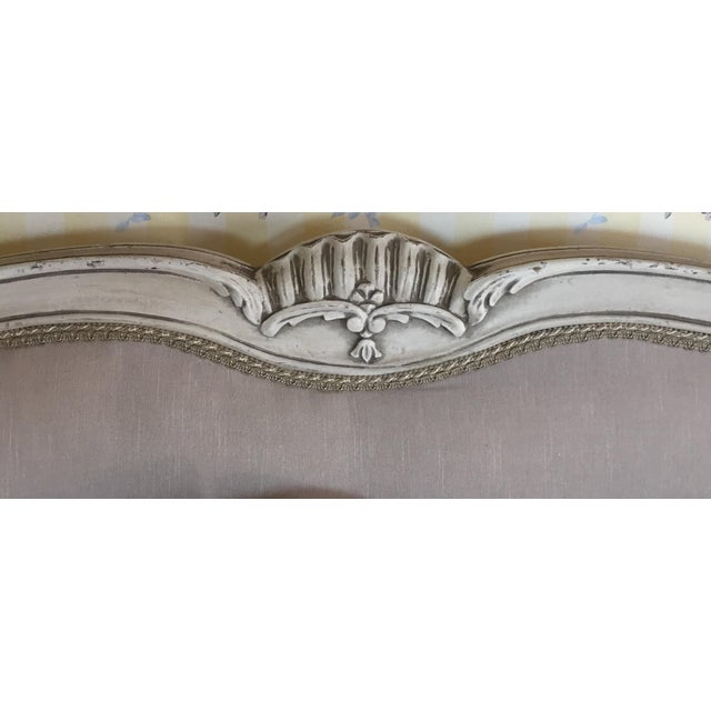 Vintage French Style Queen Bed Frame - Image 3 of 8