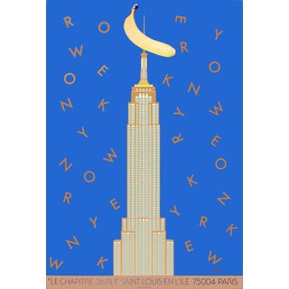 1984 Razzia New York and King Kong Poster