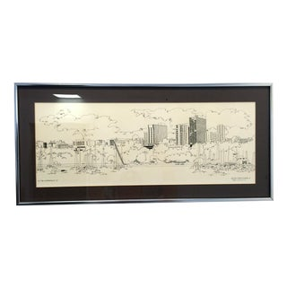 Steve Slaske Original Print Milwaukee 1978
