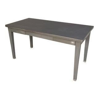 Vintage Industrial Steel Desk by General Fireproofing
