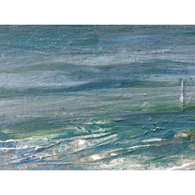 Ballston Beach Abstract Seascape Painting - Image 3 of 5