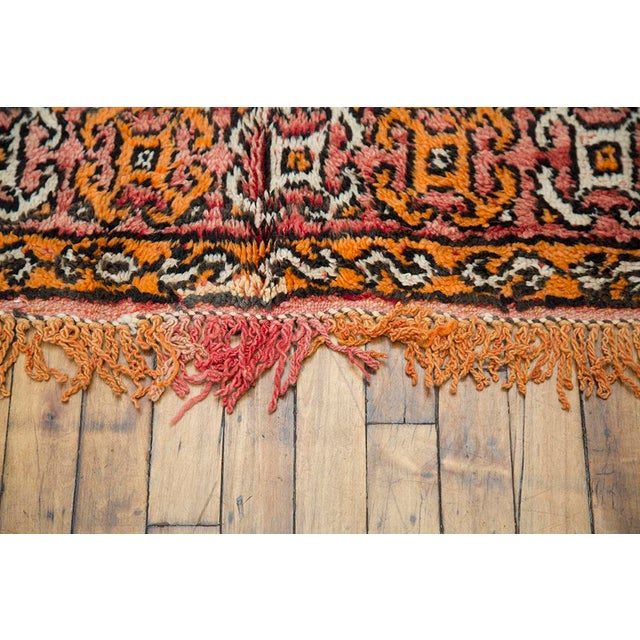 """Red Moroccan Taznakht Rug - 6'7"""" X 8' - Image 5 of 8"""