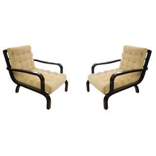 1940s Italian Armchairs - A Pair