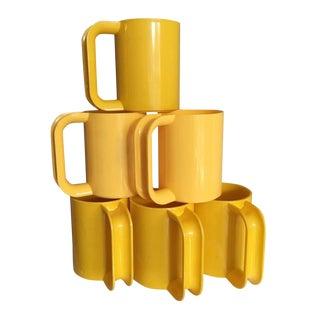 Vintage Heller Ware Massimo Vignelli Mugs - 6