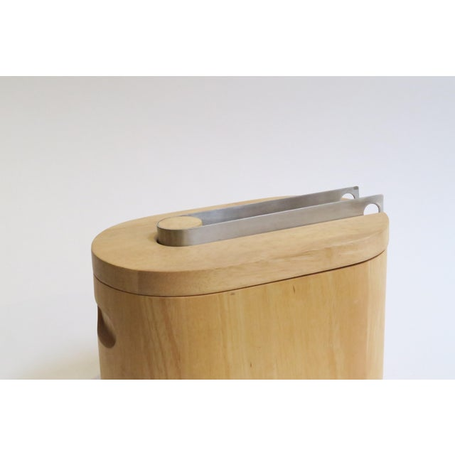 Modern Wooden Ice Bucket - Image 3 of 5