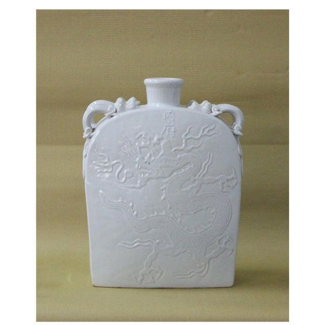 Sarreid LTD Grey Dragon Ceramic Vase - Image 2 of 3