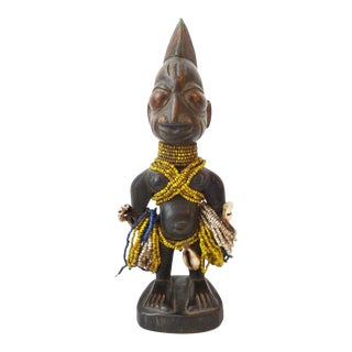 African Art Namji Fertility Male Doll Cameroon