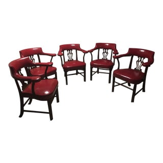 Kittinger Harp Back Club Chairs - Set of 5
