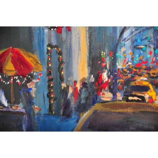 """""""Downtown Manhattan 4th July,"""" Oil Painting - Image 8 of 10"""