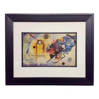 Vintage Abstract Kandinsky Lithograph