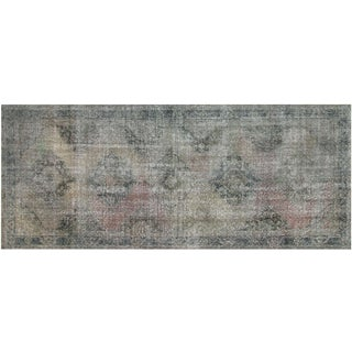 "Vintage Turkish Overdyed Runner - 4'10"" x 12'6"""