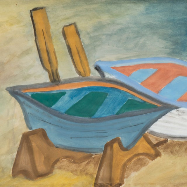 Regina Schafer Painting - Fishing Boats, Italy - Image 2 of 4