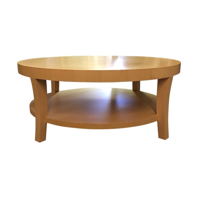 Craig Collings Maple Cocktail Table - Image 1 of 9