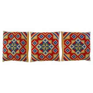 Vintage Swedish Pillows - Set of 3