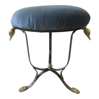Vintage Neoclassical Style Stool