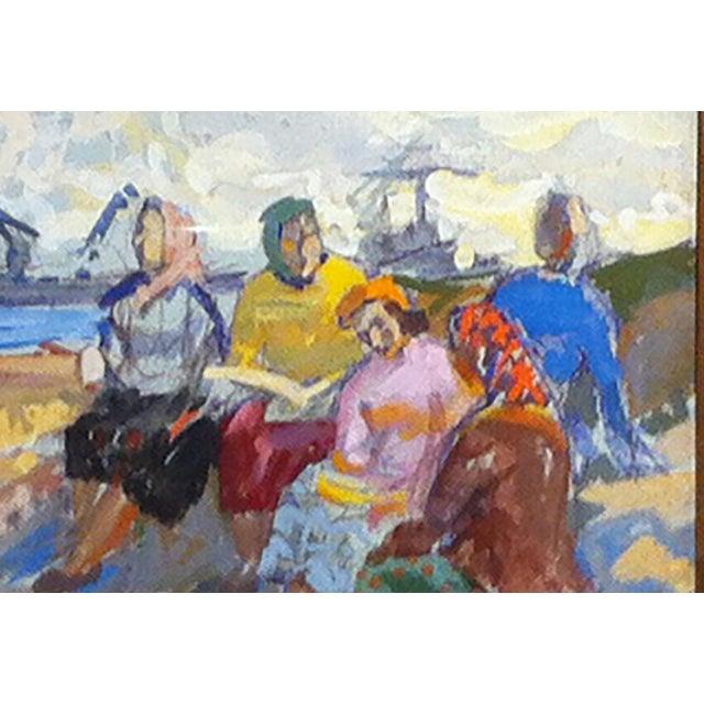 Russian Gouache . cir 1950-60's - Image 3 of 3