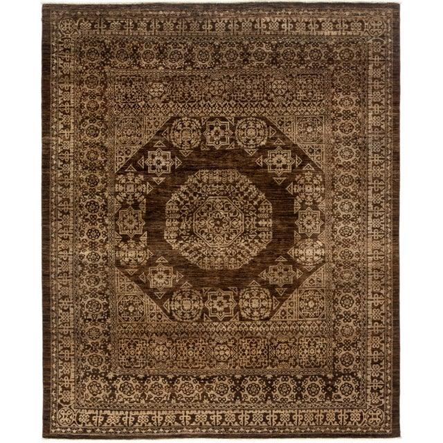 """Gabbeh Hand Knotted Area Rug - 7'9"""" X 9'6"""" - Image 2 of 4"""