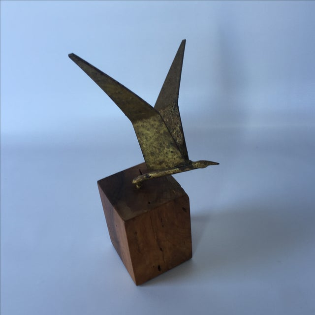 Curtis Jere Brass Seagull - Image 4 of 6