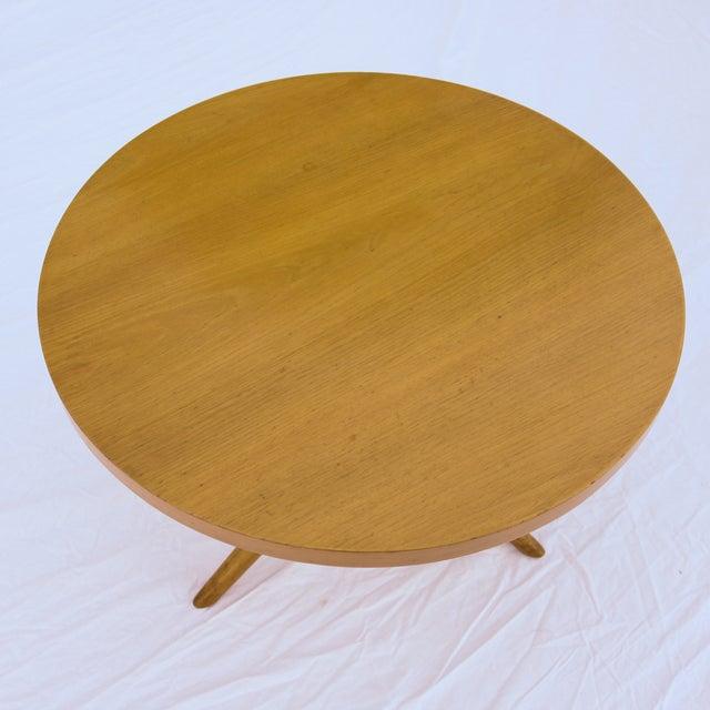 Image of 1955 T.H. Robsjohn-Gibbings Widdicomb Tripod Table
