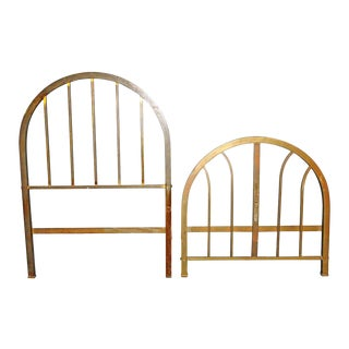 Brass Single Bed Frames - A Pair