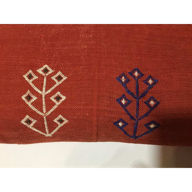 Moroccan Cactus Silk Pillow - Image 6 of 10