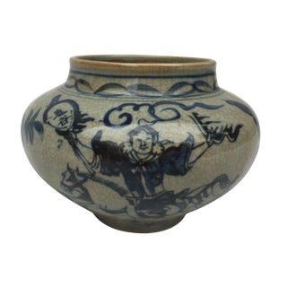 Chinese Warrior Decorative Bowl