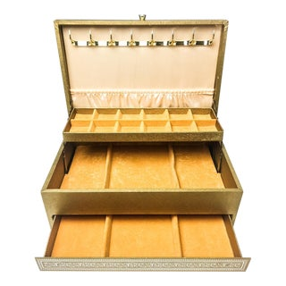 1960s Vintage Lady Buxton Jewelry Box