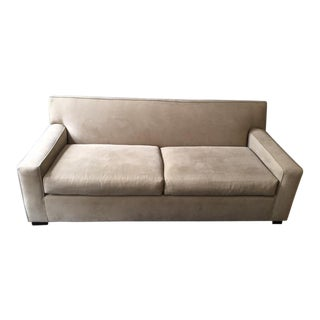 Mitchell Gold + Bob William Gray Sofa
