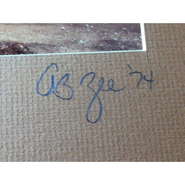 Vintage 1974 Maui, Hawaii Signed Photograph - Image 4 of 5