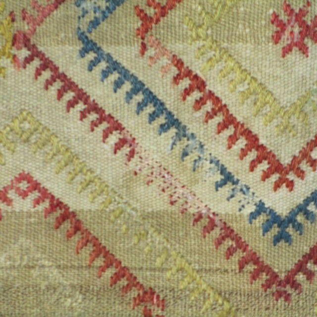 Vintage 1960s Turkish Kilim Pillow Cover - Image 3 of 4