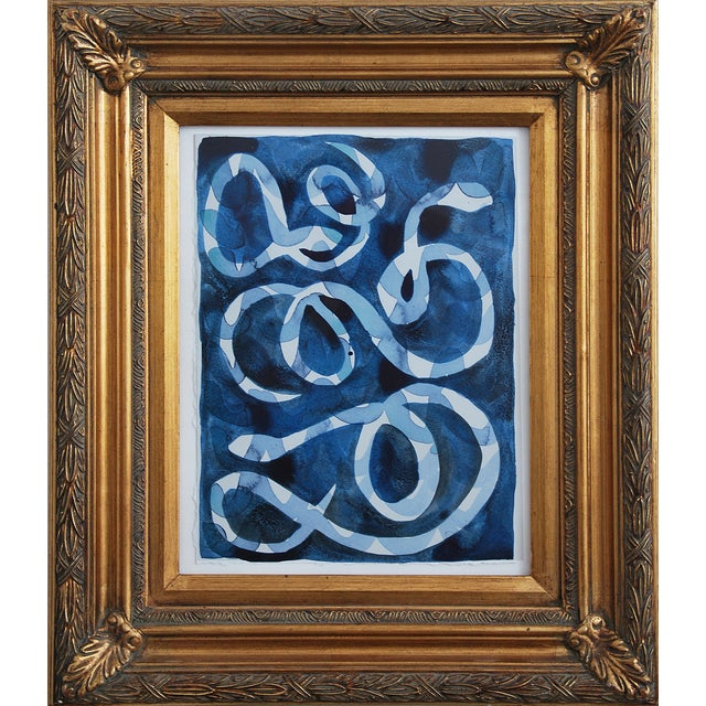 """""""Snakes"""" Painting by Kate Roebuck - Image 2 of 2"""