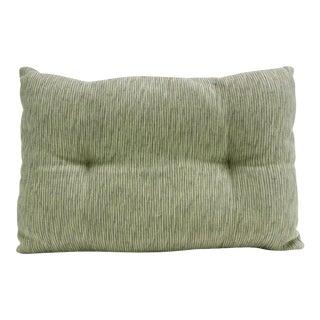 Chartreuse Handloom Pillow