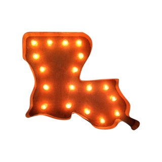 Louisiana Lighted Marquee Sign