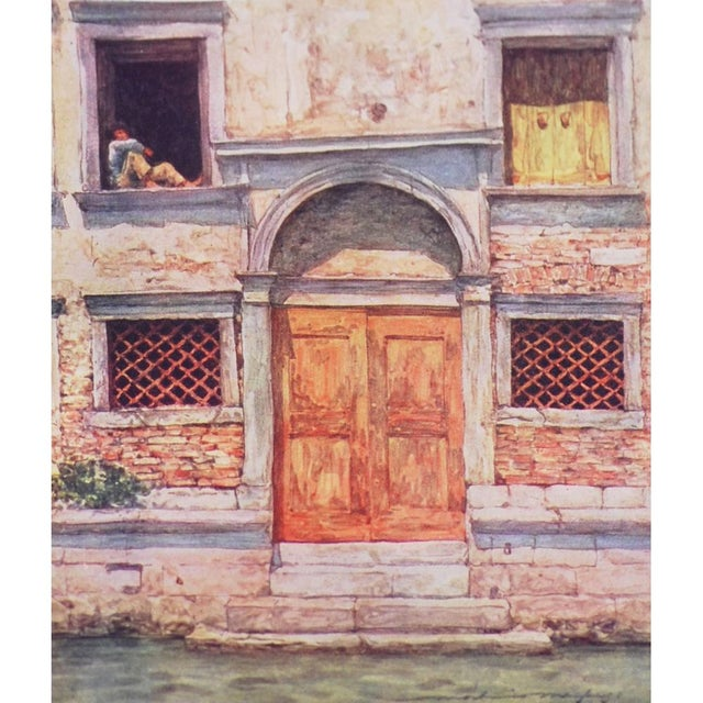 'Windows & Doors of Venice' Lithographs - Set of 4 - Image 7 of 8