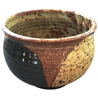 1972 Studio Pottery Bowl Signed