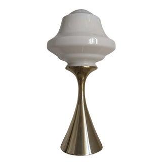 Gold Laurel Mushroom Lamp