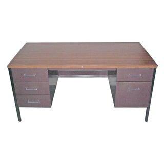 Vintage Steelcase Minimalist Modern Desk