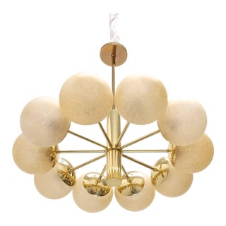 1960s German Ten-Globe Pendant